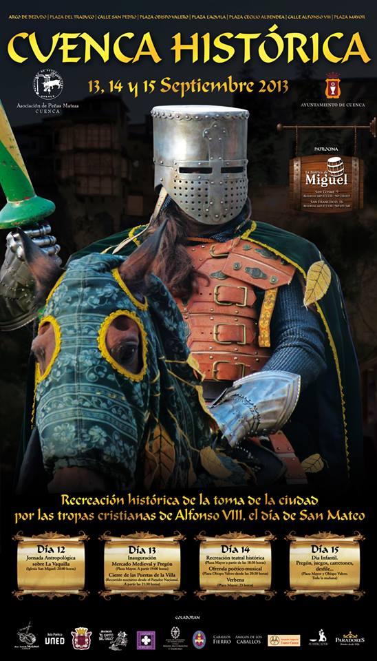 cartel cuenca historica 2013