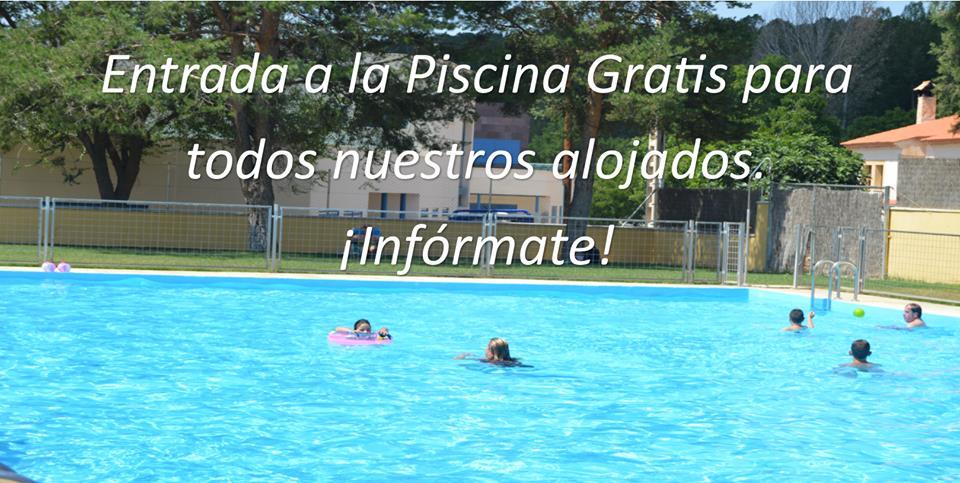 Hostal con piscina en Cuenca