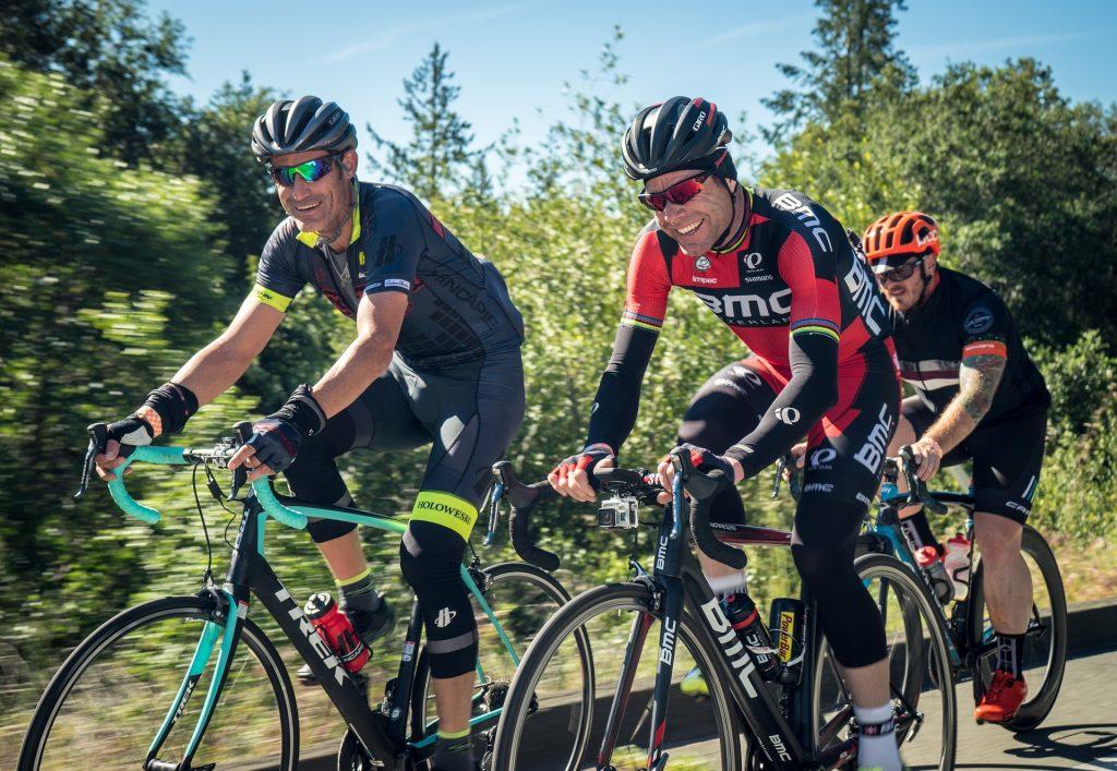 Vía segura para ciclistas